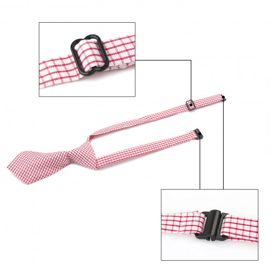 Segarty Dog Ties and Bows, 30 PCS Plaid Pet Neck Ties Grooming Accessories for Daily Wearing Birthday Photography Holiday Festival Party Gift, Seasonal Necktie for Small Medium Dogs