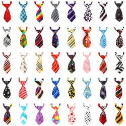 Bow Ties for Dogs, 40pcs Segarty Dog Bows Adjustable Pet Bow Ties for Small Dogs Cats, Puppy Bowties Neck Ties Grooming Bows for Valentines Day Wedding Party Photography Costumes Gift, No Repeats