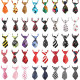 Dog Ties, 40PCS Segarty Small Cat Dog Bow Tie Collar, Adjustable Pet Neckties for Holiday Festival Dog Collar Dog Grooming Accessories