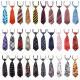 Dog Neckties, 30PCS Segarty Baby Toddlers Ties Medium Dog Bow Ties Collar, Adjustable Pet Cat Dog Neckties for Holiday Festival Dog Collar Dog Grooming Accessories